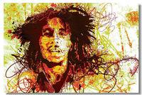 Bob Marley BM  Wall Silk Poster 48x32,36x24,18x12 inch Pop Music Giant Big Huge Bar Pub Prints Mural Legend Exodus  Peace (014)