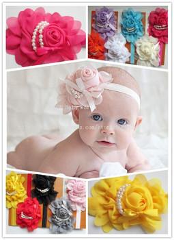 2013 fashion children Beautiful Headband hairband Baby Girls flowers headbands,kids' hair accessories 11pcs/lot free shipping