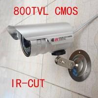 800TVL CMOS  IR-CUT D/N CCTV Security Camera Video Color Outdoor Waterproof 6mm Lens W130-8