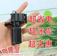 free shipping Small filter mini aquarium purifier filter bucket built-in mute oxygen pump three-in