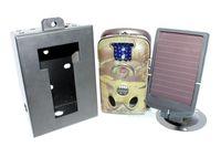 Free shipping!!Brand Ltl Acorn Ltl 5210MM Trail Farm Hunting GSM Camera Cam+7V Solar Panel+Security Box+8GB SD