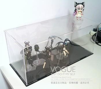Acrylic customize - display cover diy display box dust cover assembling model box dust box