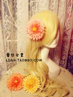 Supernova sale hand made chiffon flower boutique hair bows with clips hair accessories hair clips for women hair clip