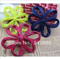 {Min.Order $15} 10pcs/Lot Peforate Flower Semi-Part/ Accessories For Hair Accessories/Garment/Jewelry/Bags/Shoes DIY