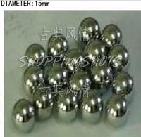 20 pcs Dia/Diameter 15 mm bearing balls Carbon steel bearings ball in stock
