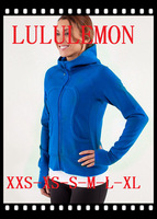61 styles Lulu lemon Lululemon scuba Lady Sport Athletic Jacket yoga wear coat Women's hoodies fashionable popular blue clothing