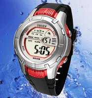 Aosheng ohsen sports table original male watch electronic watch alarum luminous