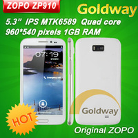 "original zopo zp910 Quad core MTK6589 5.3"" IPS Screen 1G RAM 4G ROM 3G Smartphone phone Alex"