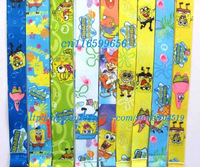 Free shipping SpongeBob SquarePants   Lanyard/ MP3/4 cell phone/ keychains /Neck Strap Lanyard wholesale 20pcs