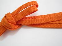 Length outdoor sneaker orange 1cm flatworm shoelace