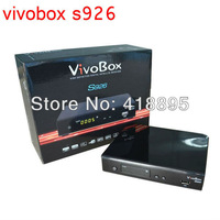 New Arrival 2013 original VIVObox S926 receiver twin tuner,independent server,Nagra3 full 1080p decoder,with free IKS and SKS