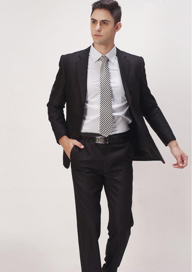 Top new style groom tuxedos men s wedding dress prom clothing best man