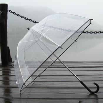 new big discounts thickening umbrella bordered transparent  bubble  long-handled umbrella mushroom umbrella apollo umbrellas