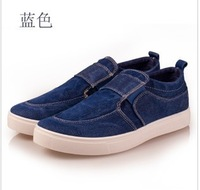 Pedal canvas shoes lazy foot wrapping fashion casual shoes male brief shoes skateboarding shoes male