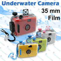 Free Shipping Lomo 35mm Film Single Lens Waterproof Camera 4m Under Water Diving Sport