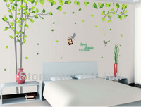 2013 Free shipping Wall Decal Large Tree Wall sticker Home Decoration Wall mural
