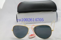 FREE SHIPPING 2013 New Arrival Men Gold/Black len Loved Unisex Fashion Sunglasses women 18 Colors Good Quality