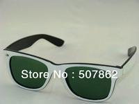 Free Shipping 1pcs/lot Black Frame Black/black Lens Sunglasses Womens Mens Fashion Sunglasses Black Eyewear With Boxes