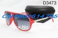 free shipping 2013 new Hot sales Red frame Designer Sports Sunglass fashion sunglasses men or women Brand sunglasses color