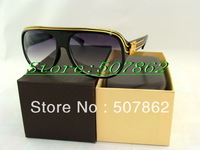 2013 year new style Big stock for women's sunglasses black sunglasses box bag cleaning cloth