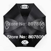 2014 direct selling umbrella 6pcs/lot mixed for free shipping exo xoxo/exo-k/exo-m/super junior/cnblue/bigbang anti uv umbrella