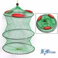 Free Shipiping Fish net 3#  thread fishing folding fish care  fishing net