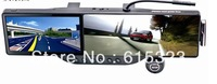 rearview mirror gps+bluetooth headset+HD 720p DVR+4GB memory+4GB TF card+maps+WIRELESS PARKING CAMERA