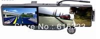 rearview mirror gps+bluetooth headset+HD 720p DVR+4GB memory+4GB TF card+maps+WIRELESS PARKING CAMERA