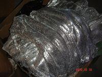 Silver Aluminium Metallic Cloth