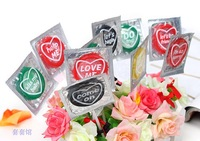 Free Shipping Heart Condoler Lollipop Sex Products Candy Personalized Fashion Condom Special Condom Spray On Condom Durex Latex