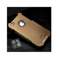 Coffee Compact Tactical Edition Premium Metal Cover Case For Apple iPhone 4 G 4S