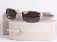 Wholesale Glasses 2013 Men aluminum magnesium polarized sunglasses box mirror driver sunglasses Brand Designer Cycling