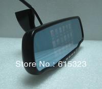 5.0 Inch Bluetooth Rear view Mirror within GPS 4GB load MAP radar detector720P HD DVR+TF card+radar detector+parking radar