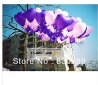 Free shipping heart-shaped balloon wedding supplies wedding marriage room decoration balloon