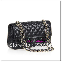 2013 fashion sheepskin leather lozenge chain bag special