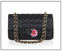2013 original double cover caviar leather ball pattern embossed lozenge chain bag free shipping