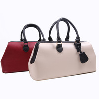 Free Shipping !! 2013 New Women Lady Celebrity  Faux Leather Clear Design Totes Handbag Shoulder purse messenger bag