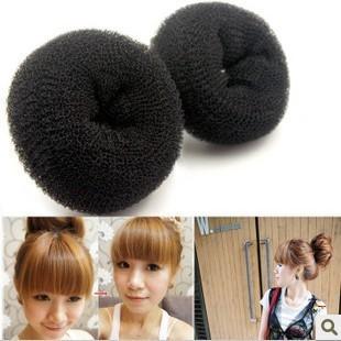 Hot-selling meatball head donuts bulkness tool tray headband