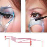 Cosmetic tools crystal eyelash card three in one eyelash curler