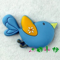 Kawaii 3D lifelike Magnetic refrigerator stickers memo pad cartoon magnets fly  Free shipping