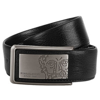 Kuailelaotou male fashion casual commercial innerwear smooth buckle strap e191-1