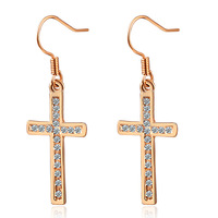 Crystal accessories fashion crystal drop earring