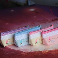 Pencil case cartoon pencil case cute pencil case gentlewomen pencil case embroidery pencil case diy pencil case