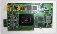Original Nvidia Video card G75VW MXM_192BIT REV. 1.0 N12E-GT-A1 graphics card / VGA card for ASUS G75V G75VW Fully tested