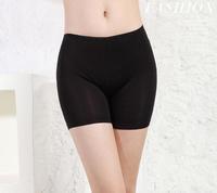 Sexy lingerie Black Joker high stretch leggings hot pants Fashion Ice Silk Safety Pants Legging Shorts Women leggings T-011