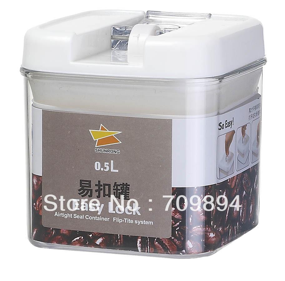 Fácil lock airtight container - - 500 ml(China (Mainland))
