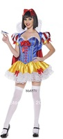 Snow White cosplay,women sexy halloween costumes,ladies fancy dress BLS8571