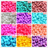 2013 New Glass handmade beaded accessories size 2mm,600pcs per bags,10g