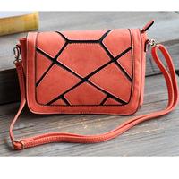 Summer new arrival geometry stone candy color flip shoulder bag messenger bag 330g Free Shipping