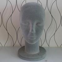 Mannequin Display Foam Female Mannequin Head grey  For Hat,Hair,Headset,Microphone Display